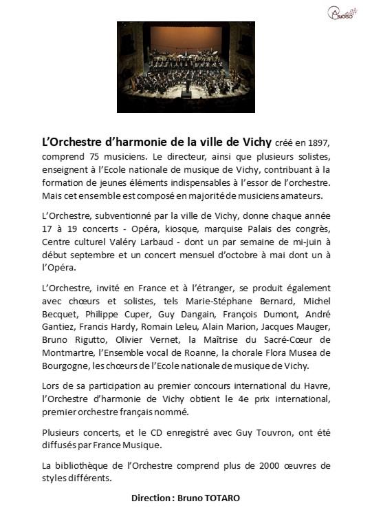 bio orchestre harmonie 2018